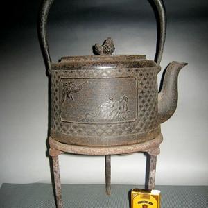 日本回流超大老铁壶