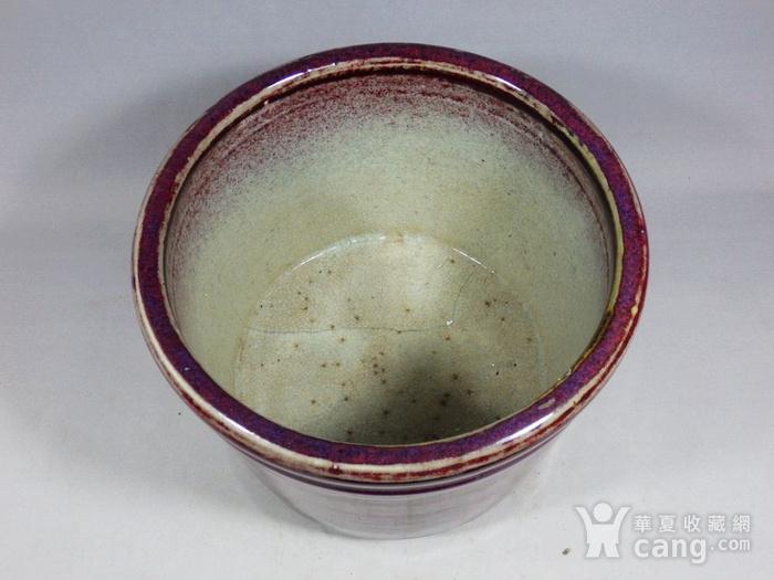 乾隆红釉筒式香炉图4