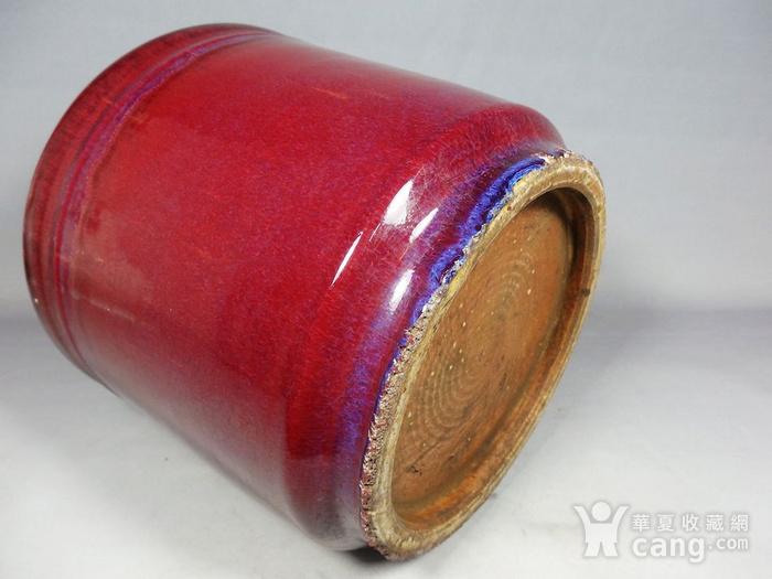 乾隆红釉筒式香炉图6