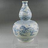 明代安南窑葫芦瓶