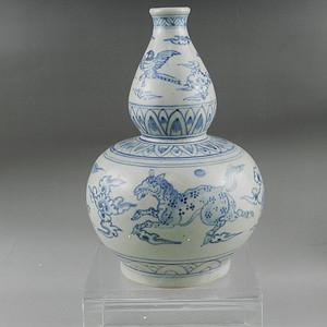 明代安南窑葫芦瓶 联盟