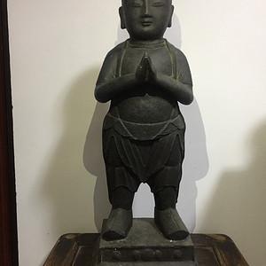 明代巨型铜释迦牟尼童子像