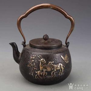 老日本铁壶