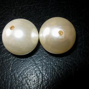 清代老珍珠2颗