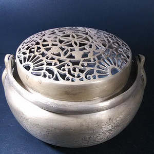 精品白铜手炉子