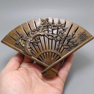 梅花香自苦寒来  铜香盒