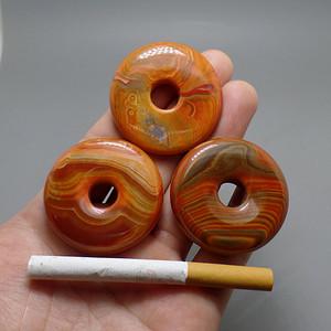 三个好纹理   玛瑙   平安扣