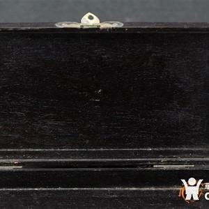金牌 民国老红木 拜贴盒子