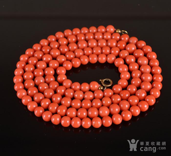 天然 红珊瑚 项链