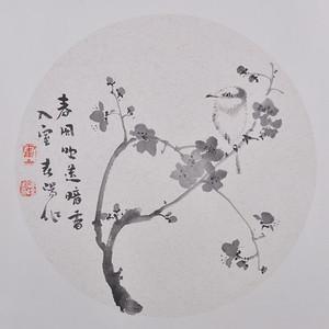 霍春阳   花卉