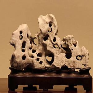 经典白色太湖石