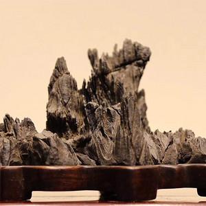 灵璧石纹石山子