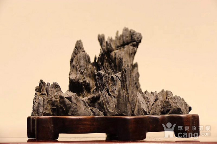 灵璧石纹石山子图1