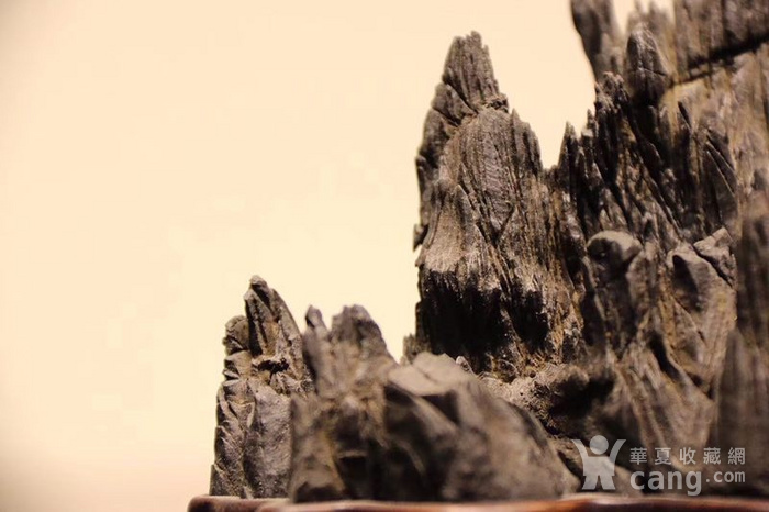 灵璧石纹石山子图2