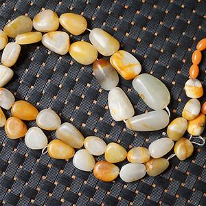 79g和田黄沁籽料原石项链