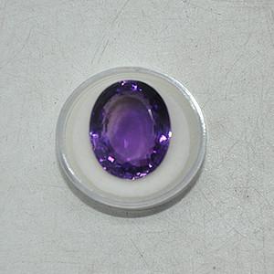 24克拉紫水晶戒面
