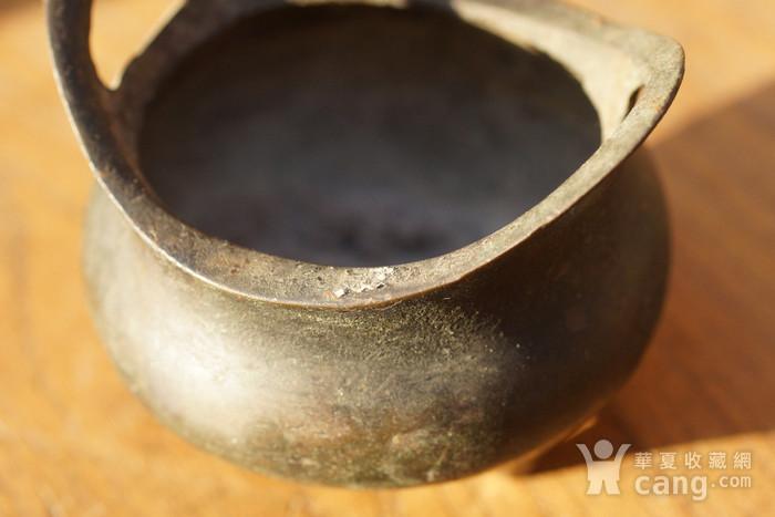 回流清代铜炉图6