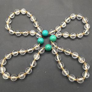 天然老水晶珠子