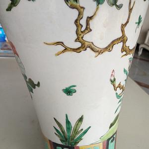 清五彩花卉瓶
