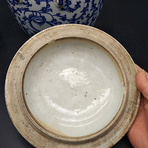 清青花莲籽粥四系罐