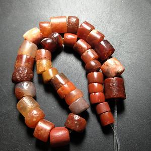 高古西周玛瑙珠子
