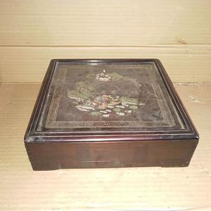 红酸枝方盒