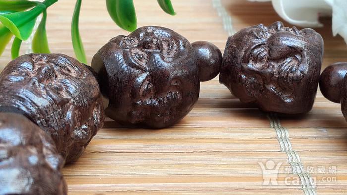 49 越南红土沉香18罗汉佛珠手串20X1.5厘米图8