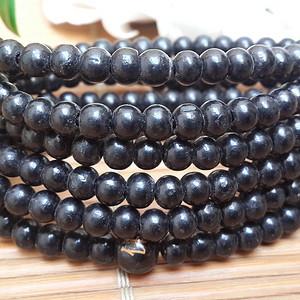 58 印尼黑檀木精品加长多层手链毛衣链54厘米0.6MM