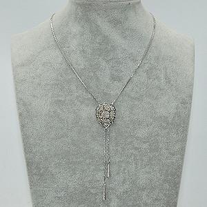 12.6克镶石材金属项链