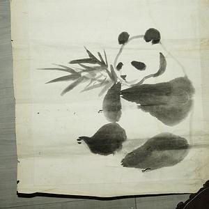 民国老画家吴作人