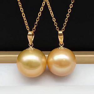 天然珍珠吊坠