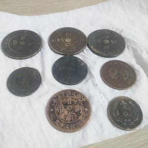 几个包老铜元拍