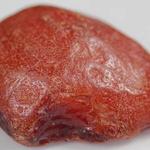 天然蜜蜡原石 168克极美枣红皮蜜蜡