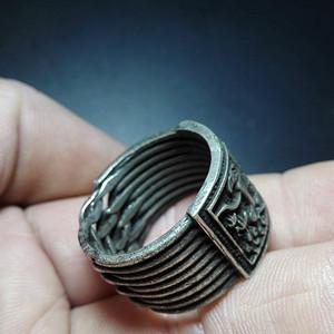 纯银老戒指