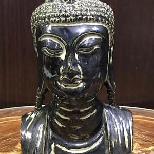 100127 瓷雕释迦摩尼半身像