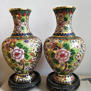 国营老厂库存掐丝珐琅花瓶