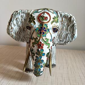 精品掐丝珐琅大象