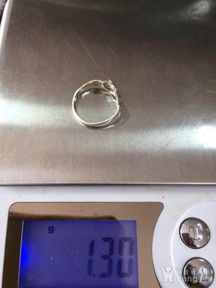 8096欧洲回流银戒指图7