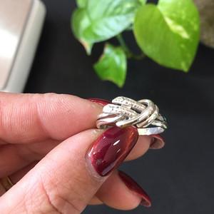 8097欧洲回流老银戒指