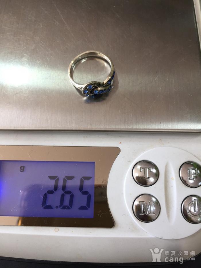 8098欧洲回流老银戒指图9