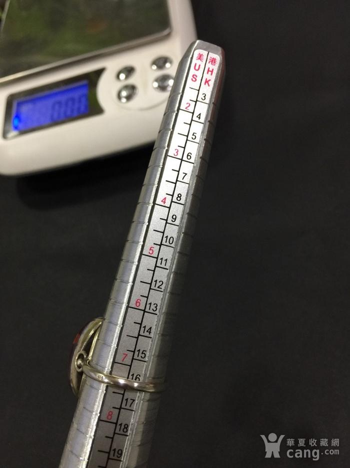 8124俄罗斯金工琥珀戒指图9