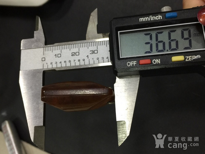 8130俄罗斯银工扣头琥珀坠子图8