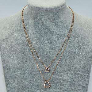 6.8克金属吊坠项链