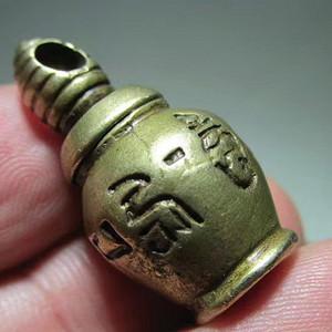 藏传 民国时期 铜质 精工打造 六字真言 积福塔 挂件 做工精巧