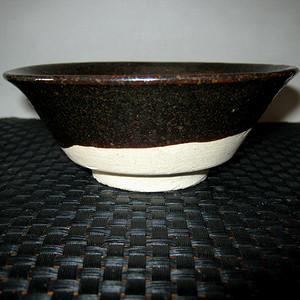 辽金黑釉碗