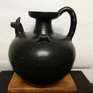 金牌 黑釉盏碗