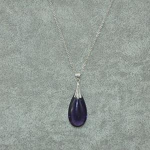 3.9克紫水晶吊坠项链