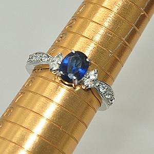2.6克镶水晶戒指