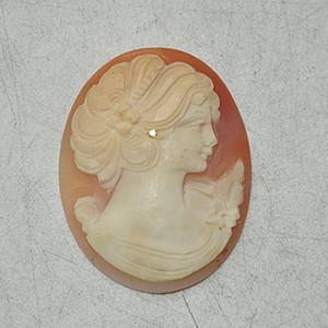 5.4克欧洲贝雕饰品