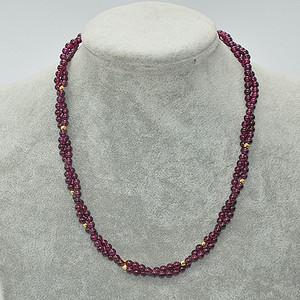 29.3克紫水晶项链